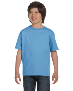 Carolina Blue DryBlend®  Youth 5.6 oz., 50/50 T-Shirt