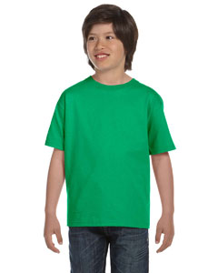 Irish Green DryBlend®  Youth 5.6 oz., 50/50 T-Shirt