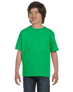 Electric Green DryBlend®  Youth 5.6 oz., 50/50 T-Shirt