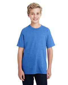 Hthr Sport Royal DryBlend®  Youth 5.6 oz., 50/50 T-Shirt
