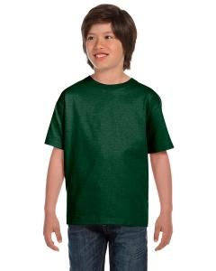 Sport Dark Green DryBlend®  Youth 5.6 oz., 50/50 T-Shirt