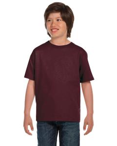 Sprt Drk Maroon DryBlend®  Youth 5.6 oz., 50/50 T-Shirt