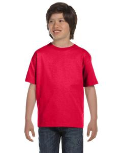 Sprt Scarlet Red DryBlend®  Youth 5.6 oz., 50/50 T-Shirt