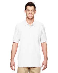 White Premium Cotton™ 6.5 oz. Double Piqué Sport Shirt