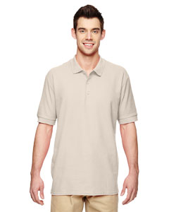 Sand Premium Cotton™ 6.5 oz. Double Piqué Sport Shirt