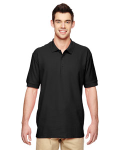 Black Premium Cotton™ 6.5 oz. Double Piqué Sport Shirt