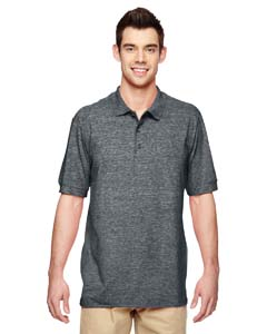 Dark Heather Premium Cotton™ 6.5 oz. Double Piqué Sport Shirt