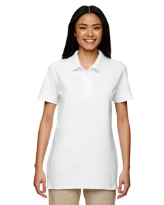 White Premium Cotton™ Ladies' 6.5 oz. Double Piqué Sport Shirt