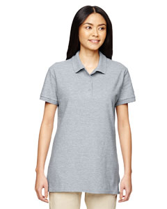 Sport Grey Premium Cotton™ Ladies' 6.5 oz. Double Piqué Sport Shirt