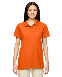 Orange Premium Cotton™ Ladies' 6.5 oz. Double Piqué Sport Shirt