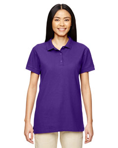 Purple Premium Cotton™ Ladies' 6.5 oz. Double Piqué Sport Shirt