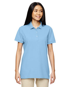 Light Blue Premium Cotton™ Ladies' 6.5 oz. Double Piqué Sport Shirt