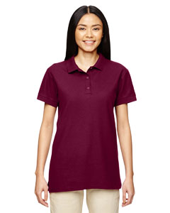 Maroon Premium Cotton™ Ladies' 6.5 oz. Double Piqué Sport Shirt