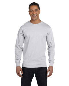 Ash Grey Adult 5.5 oz., 50/50 Long-Sleeve T-Shirt