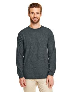 Dark Heather Adult 5.5 oz., 50/50 Long-Sleeve T-Shirt