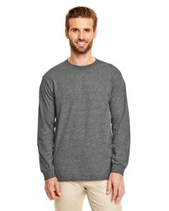 Graphite Heather DryBlend™ 5.6 oz., 50/50 Long-Sleeve T-Shirt
