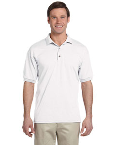 White DryBlend® 6 oz., 50/50 Jersey Polo