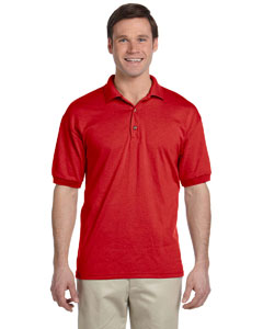 Red DryBlend® 6 oz., 50/50 Jersey Polo