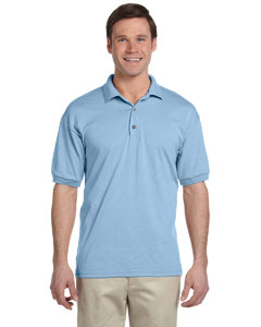 Light Blue DryBlend® 6 oz., 50/50 Jersey Polo