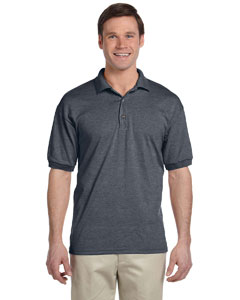 Dark Heather DryBlend® 6 oz., 50/50 Jersey Polo
