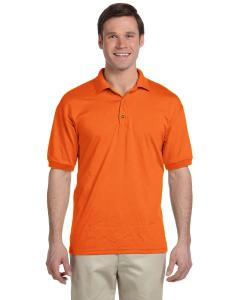 S Orange DryBlend® 6 oz., 50/50 Jersey Polo