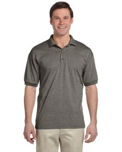 Graphite Heather DryBlend® 6 oz., 50/50 Jersey Polo