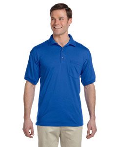 Royal DryBlend™ 6 oz., 50/50 Jersey Polo with Pocket