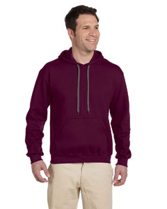 Maroon Premium Cotton™ 9 oz. Ringspun Hooded Sweatshirt