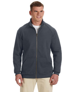 Charcoal Premium Cotton™ 9 oz. Ringspun Fleece Full-Zip Jacket