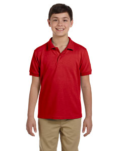 Red DryBlend™ Youth 6.5 oz. Piqué Sport Shirt