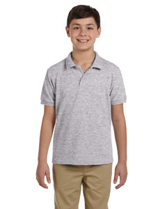 Sport Grey DryBlend™ Youth 6.5 oz. Piqué Sport Shirt