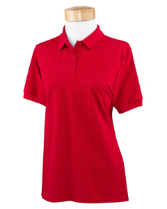 Red Women's 6.5 oz. DryBlend™ Piqué Sport Shirt