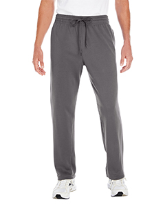 Charcoal Adult Performance® 7.2 oz Tech Open Bottom Sweatpants with Pockets