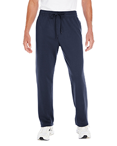 Sport Dark Navy Adult Performance® 7.2 oz Tech Open Bottom Sweatpants with Pockets