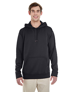 Black Adult Performance® 7.2 oz Tech Hooded Sweatshirt