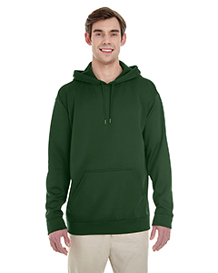 Sport Dark Green Adult Performance® 7.2 oz Tech Hooded Sweatshirt
