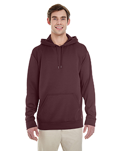 Sprt Drk Maroon Adult Performance® 7.2 oz Tech Hooded Sweatshirt