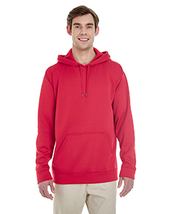 Sprt Scarlet Red Adult Performance® 7.2 oz Tech Hooded Sweatshirt