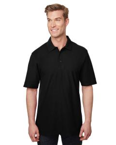 Black Adult DryBlend® CVC Polo