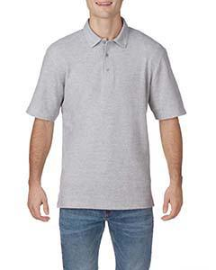 Rs Sport Grey Adult DryBlend® CVC Polo