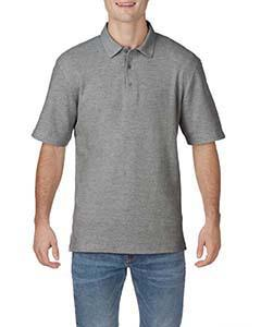Graphite Heather Adult DryBlend® CVC Polo