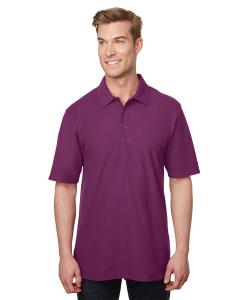 Plum Adult DryBlend® CVC Polo
