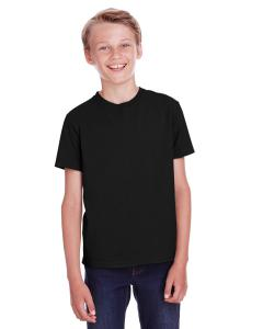 Black Youth 5.5 oz., 100 Ringspun Cotton Garment-Dyed T-Shirt