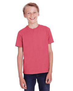 Crimson Fall Youth 5.5 oz., 100 Ringspun Cotton Garment-Dyed T-Shirt