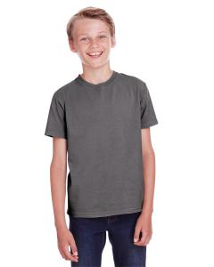 New Railroad Gry Youth 5.5 oz., 100 Ringspun Cotton Garment-Dyed T-Shirt