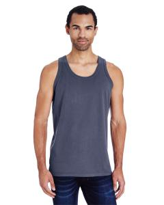 Anchor Slate Unisex 5.5 oz., 100 Ringspun Cotton Garment-Dyed Tank