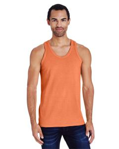 Horizon Orange Unisex 5.5 oz., 100 Ringspun Cotton Garment-Dyed Tank
