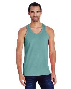Cypress Green Unisex 5.5 oz., 100 Ringspun Cotton Garment-Dyed Tank