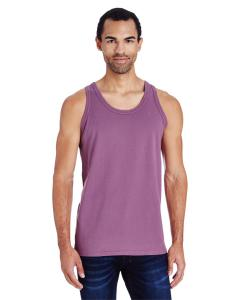 Purple Plm Raisn Unisex 5.5 oz., 100 Ringspun Cotton Garment-Dyed Tank