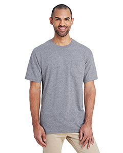 Rs Sport Grey ADULT Hammer™ Adult 6 oz. T-Shirt with Pocket
